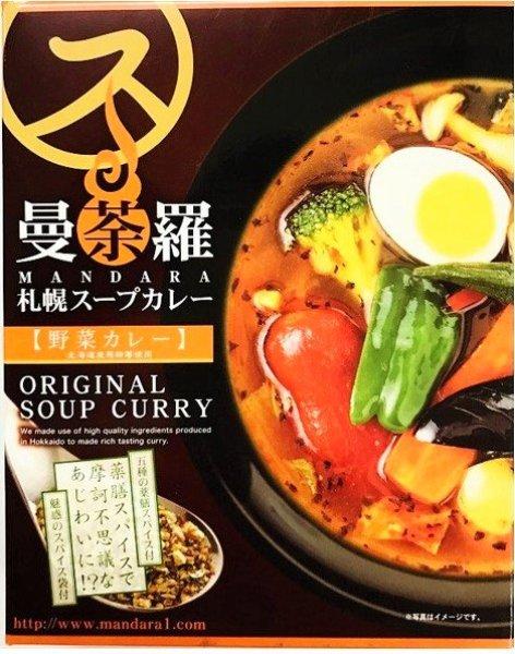 画像1: 曼荼羅 スープカレー 野菜カレー 1人前 (1)