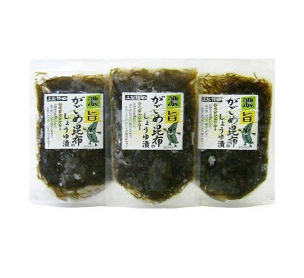 画像1: 3袋1080円コーナー がごめ昆布醤油漬 (150g袋入) (1)