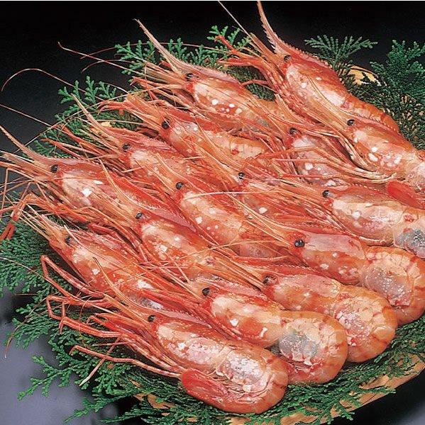 画像1: ボタンエビ(北海産)メス B) 1kg(L)18〜20尾 (1)