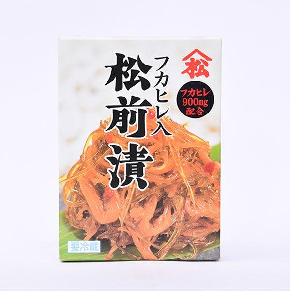画像1: 当社オリジナル 山松松前漬(フカヒレ入) (1)